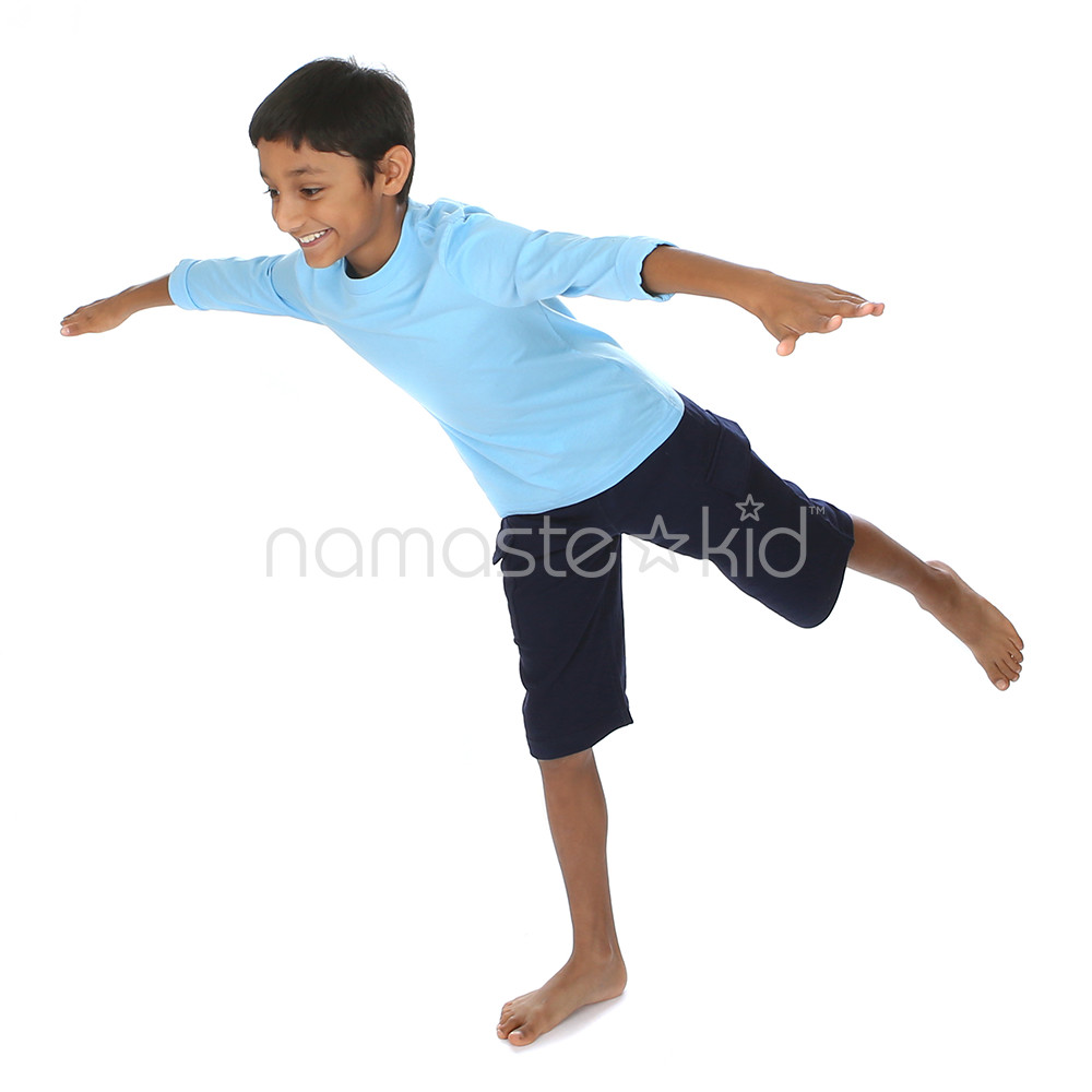 Airplane Pose  Yoga Poses for Kids, Classroom Yoga  Namaste Kid