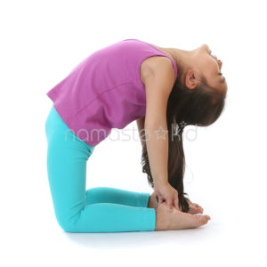 camel pose  kids' yoga poses yoga for classrooms