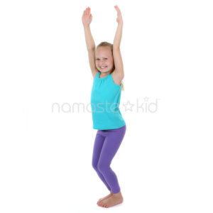chair pose  kids' yoga poses yoga for classrooms