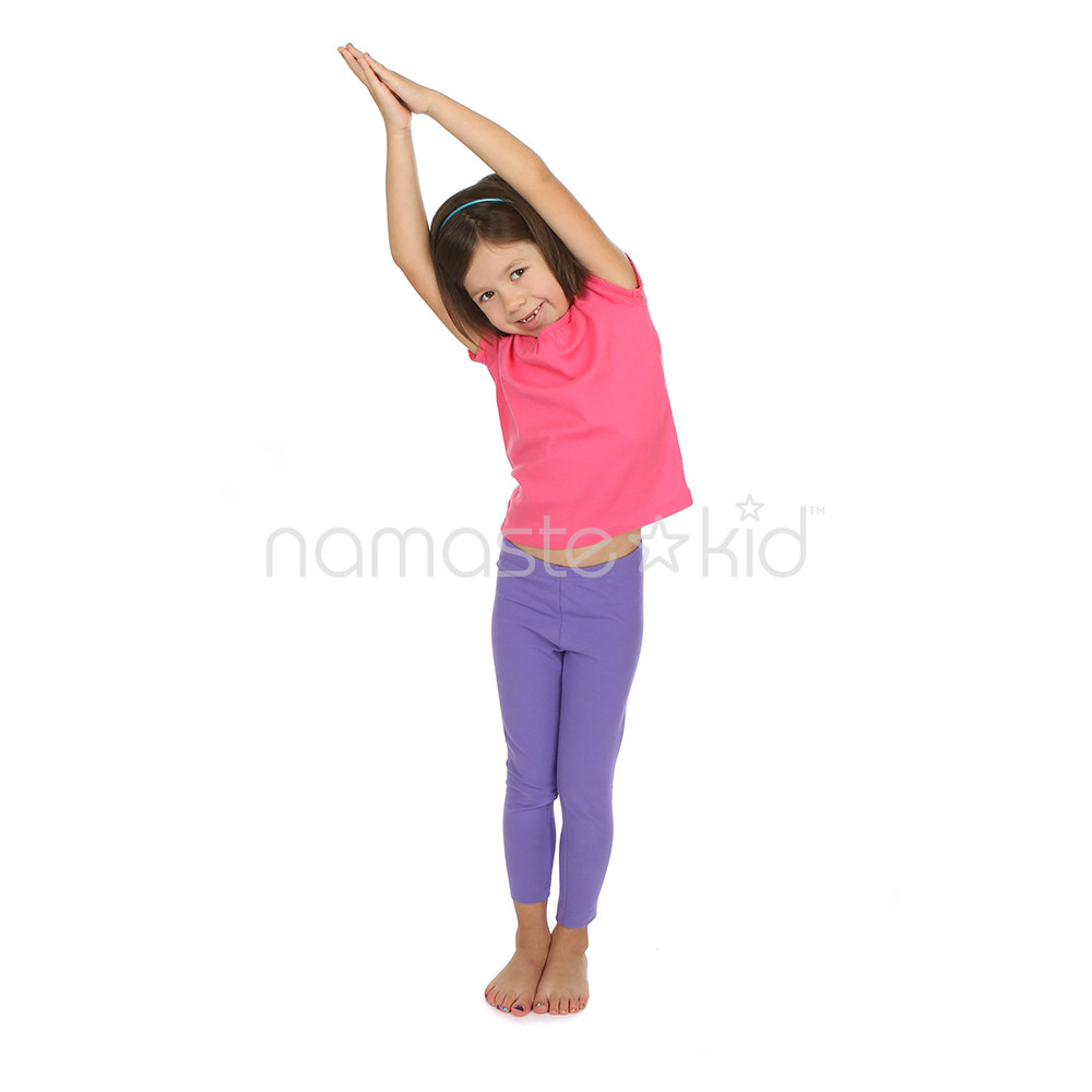 Crescent Moon Pose | Kids' Yoga Poses, Yoga for Classrooms ...