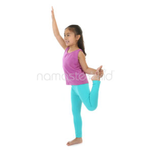 Dancer Pose Kids Yoga Poses Yoga For Classrooms Namaste Kid