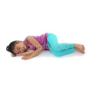 fetal pose  kids' yoga poses yoga for classrooms