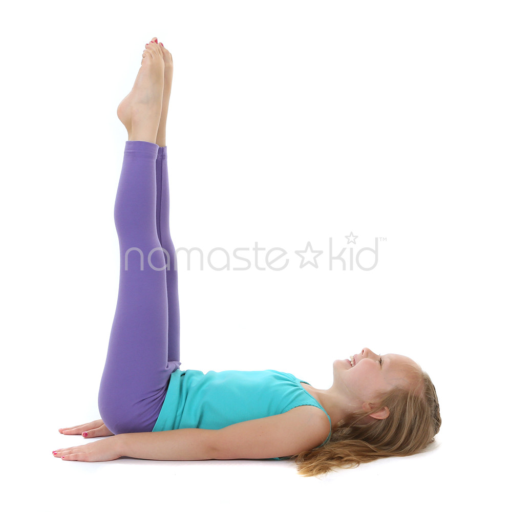 Legs Up the Wall | Kids' Yoga Poses, Yoga for Classrooms ...