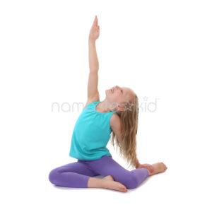 mermaid pose  kids' yoga poses yoga for classrooms