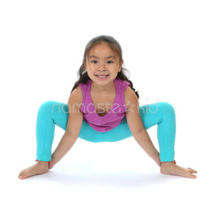 spider pose  kids' yoga poses yoga for classrooms