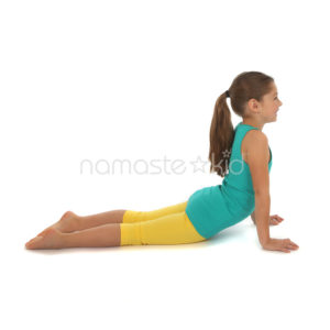 upward facing dog  kids' yoga poses yoga for classrooms