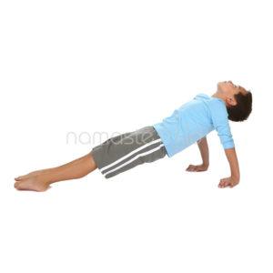 upward plank pose kids yoga poses yoga for classrooms