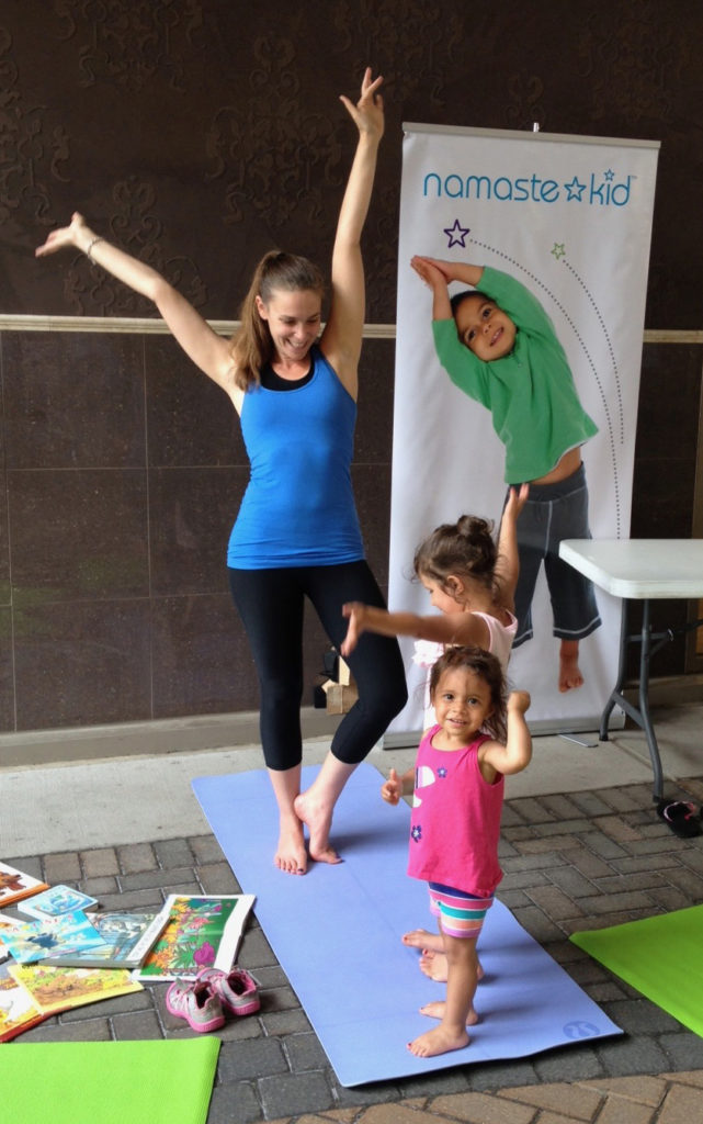 Namaste Kid Booth at Community Event