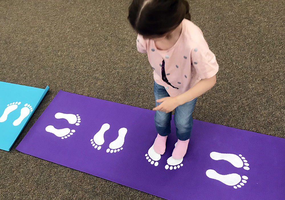 Yoga for Playtime in Preschool Classroom