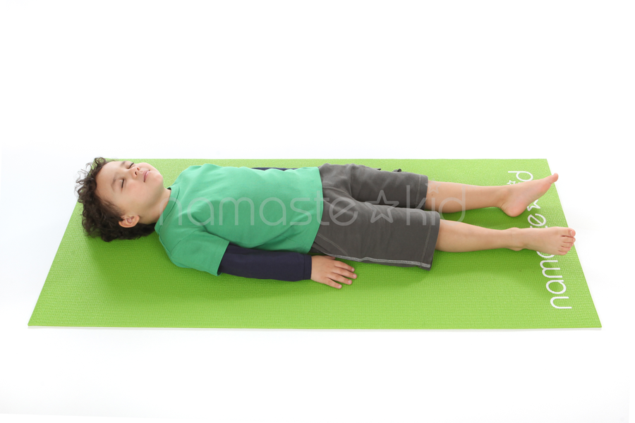 Child Doing Yoga Pose for Nap Time