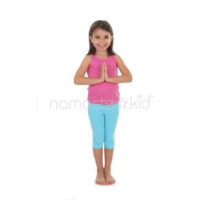 standing salutation seal  kids' yoga poses yoga for